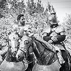 Eric as Duke of Alencon in Joan Of Arc