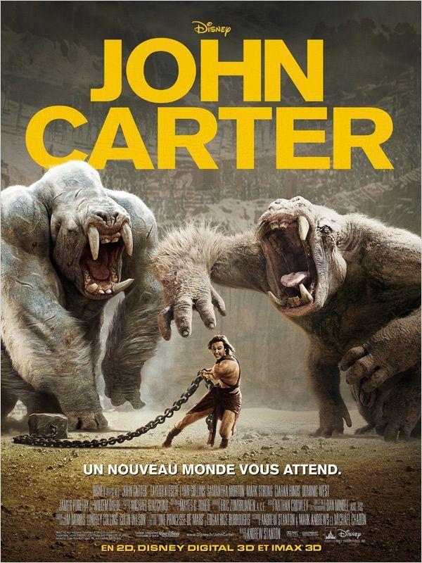 John Carter 2012 Hindi Dual Audio 480p BluRay 400MB Download