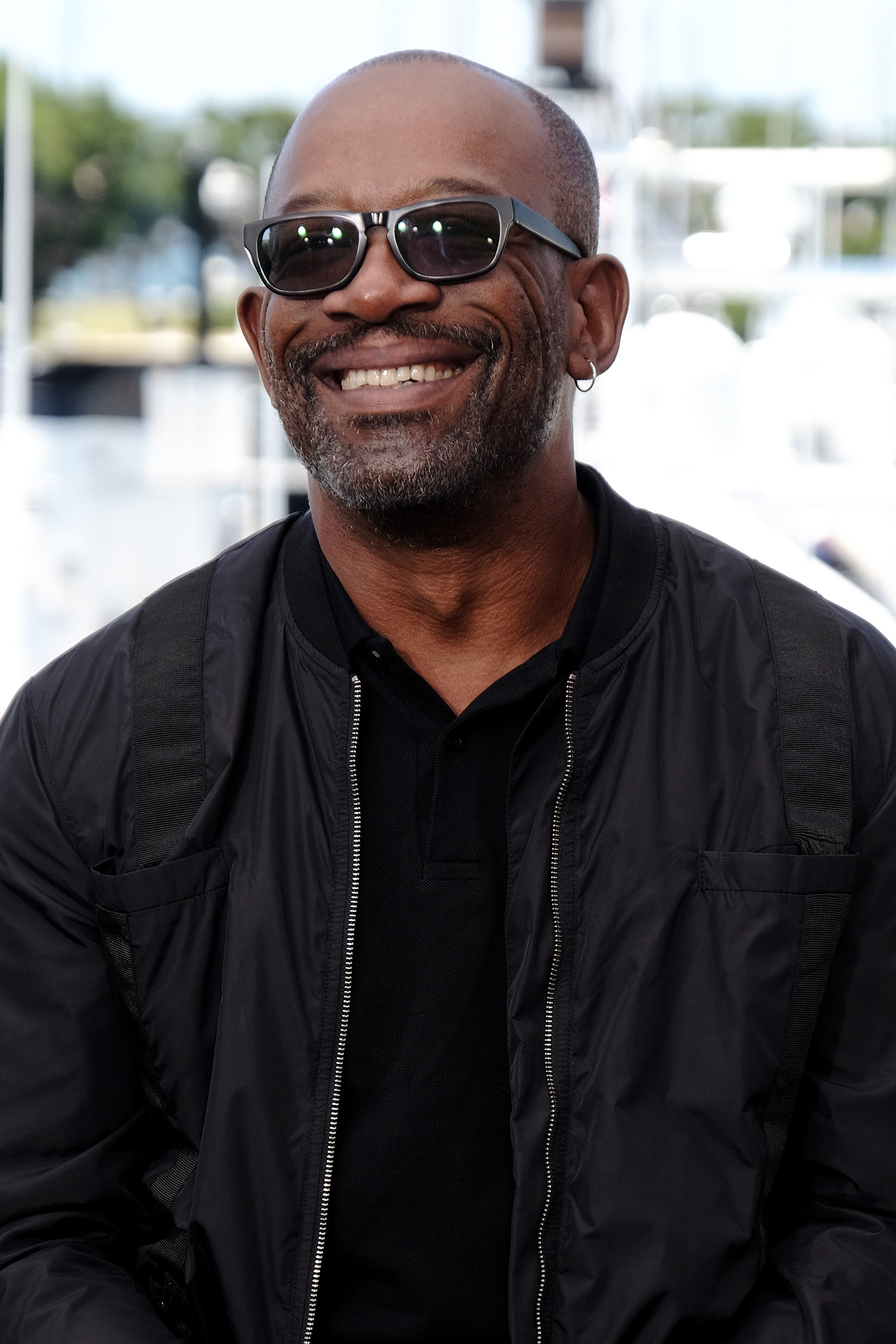 Lennie James at an event for Fear the Walking Dead (2015)