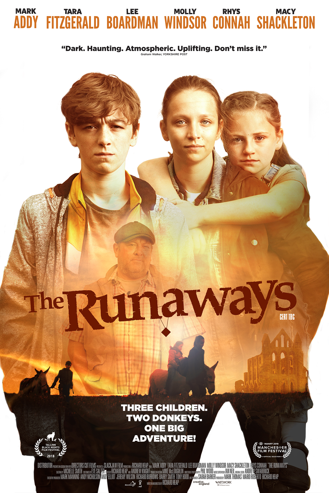 The Runaways 2020 English Movie 480p HDRip 350MB x264 AAC