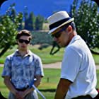 Jason Desautels and Tyler Dreger in The Tin Hat Tramp (2018)