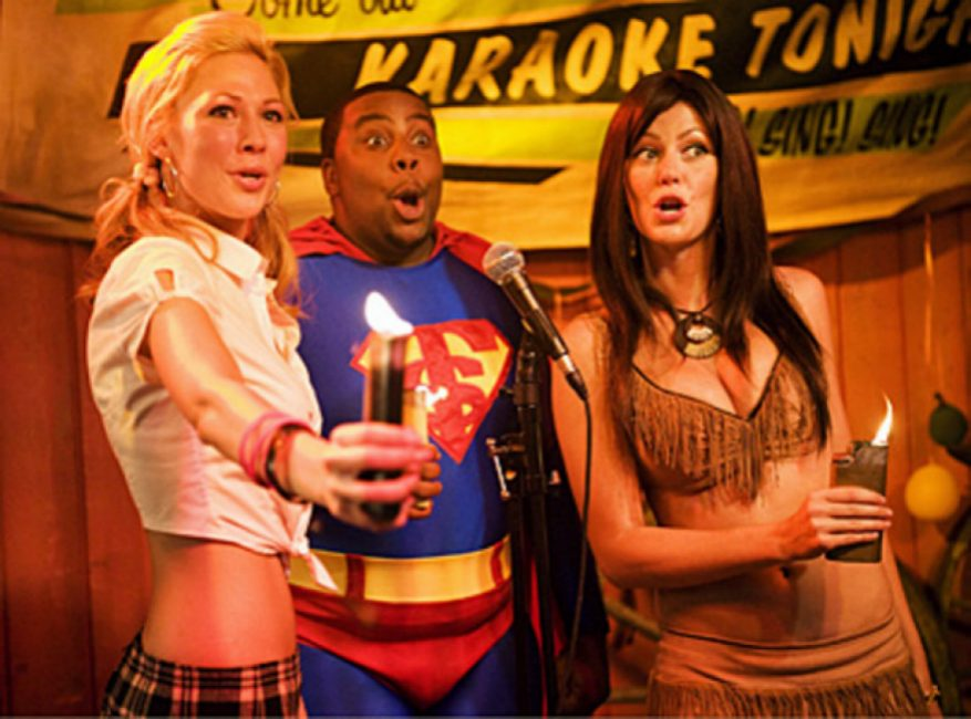 Kenan Thompson, Desi Lydic, and Diora Baird in Stan Helsing (2009)