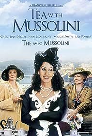 Cher, Judi Dench, and Maggie Smith in Un tè con Mussolini (1999)