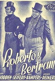 Robert and Bertram Poster