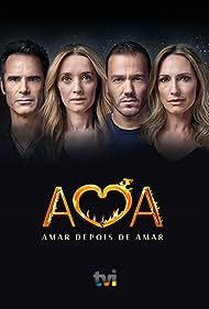 Pedro Lima, Fernanda Serrano, Pedro Teixeira, and Dina Félix Costa in Amar Depois de Amar (2019)