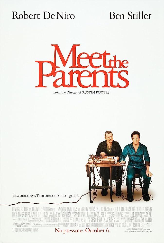 Robert De Niro and Ben Stiller in Meet the Parents (2000)