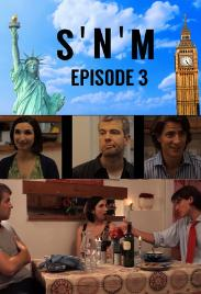 Matt Barber, Sarah Ann Masse, and Nick Afka Thomas in SNM (2019)