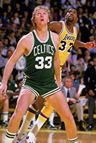 Magic Johnson and Larry Bird in The 1984 NBA Finals (1984)