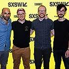 Scott Glassgold, Zeek Earl, Christopher Caldwell, and Brice Budke at an event for Prospect (2018)