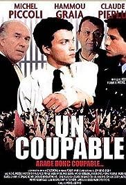 Un coupable Poster