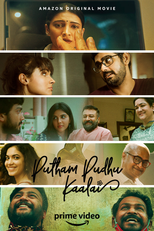 Putham Pudhu Kaalai 2020 Tamil 720p AMZN HDRip 1.4GB | 400MB ESubs Download