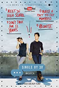 Harry Shum Jr. and Kina Grannis in Single by 30 (2016)