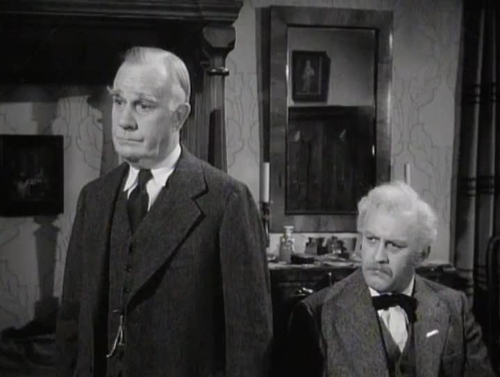 Lee J. Cobb and Henry Travers in The Moon Is Down (1943)