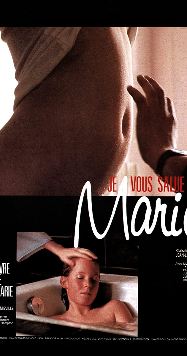 image poster from imdb - Je vous salue, Marie (1985) • Movie