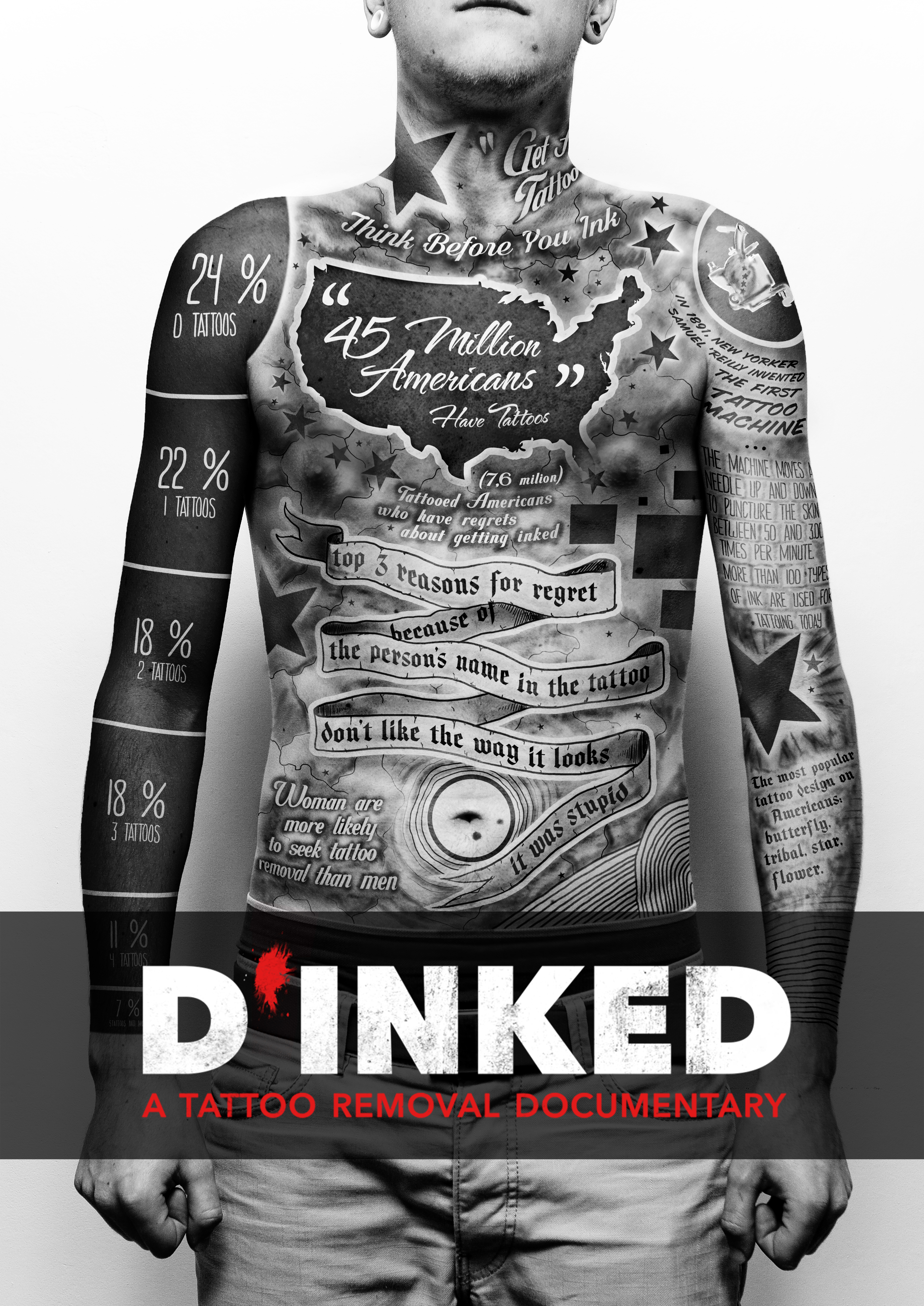 D\'Inked: A Tattoo Removal Documentary (2017) - IMDb