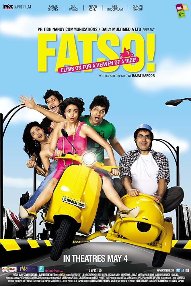 Fatso! (2012) Hindi 500MB NF WEB-DL 480p x264 ESubs Download , Watch Online