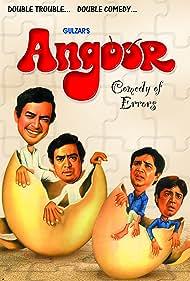 Angoor (1982) Poster - Movie Forum, Cast, Reviews