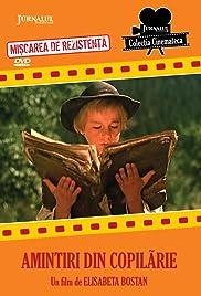 Amintiri din copilarie Poster