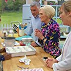 Mel Giedroyc, Mary Berry, Paul Hollywood, and Nadiya Hussain in The Great British Bake Off (2010)