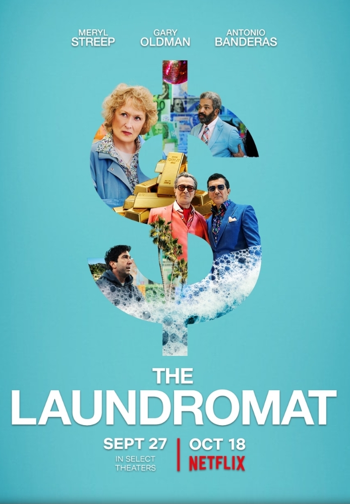 The Laundromat (2019) HDRip 720p ORG [Hindi + Eng] 900MB – ESub