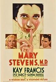 Mary Stevens, M.D.(1933) Poster - Movie Forum, Cast, Reviews