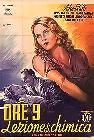 Andrea Checchi, Irasema Dilián, and Alida Valli in Ore 9: Lezione di chimica (1941)