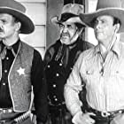 Bob Burns, George O'Brien, and Slim Whitaker in Bullet Code (1940)