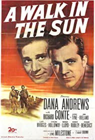Dana Andrews and Richard Conte in A Walk in the Sun (1945)