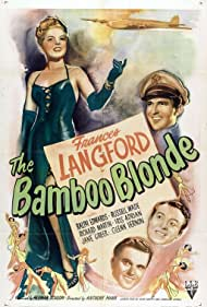 Ralph Edwards, Frances Langford, Richard Martin, and Russell Wade in The Bamboo Blonde (1946)
