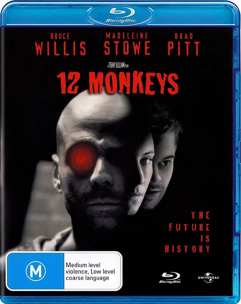 12 Monkeys (1995) [Virus] 720p Hindi English Dual Audio BRRip [2 Oscar]