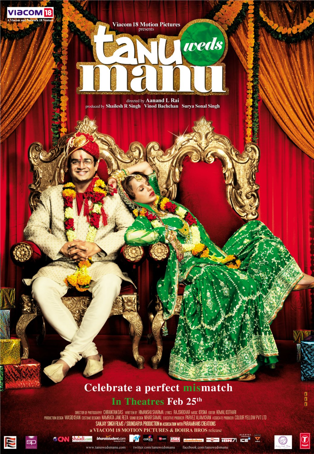 Tanu Weds Manu Returns 2015 Hindi 720p BluRay ESubs 1.1GB Download
