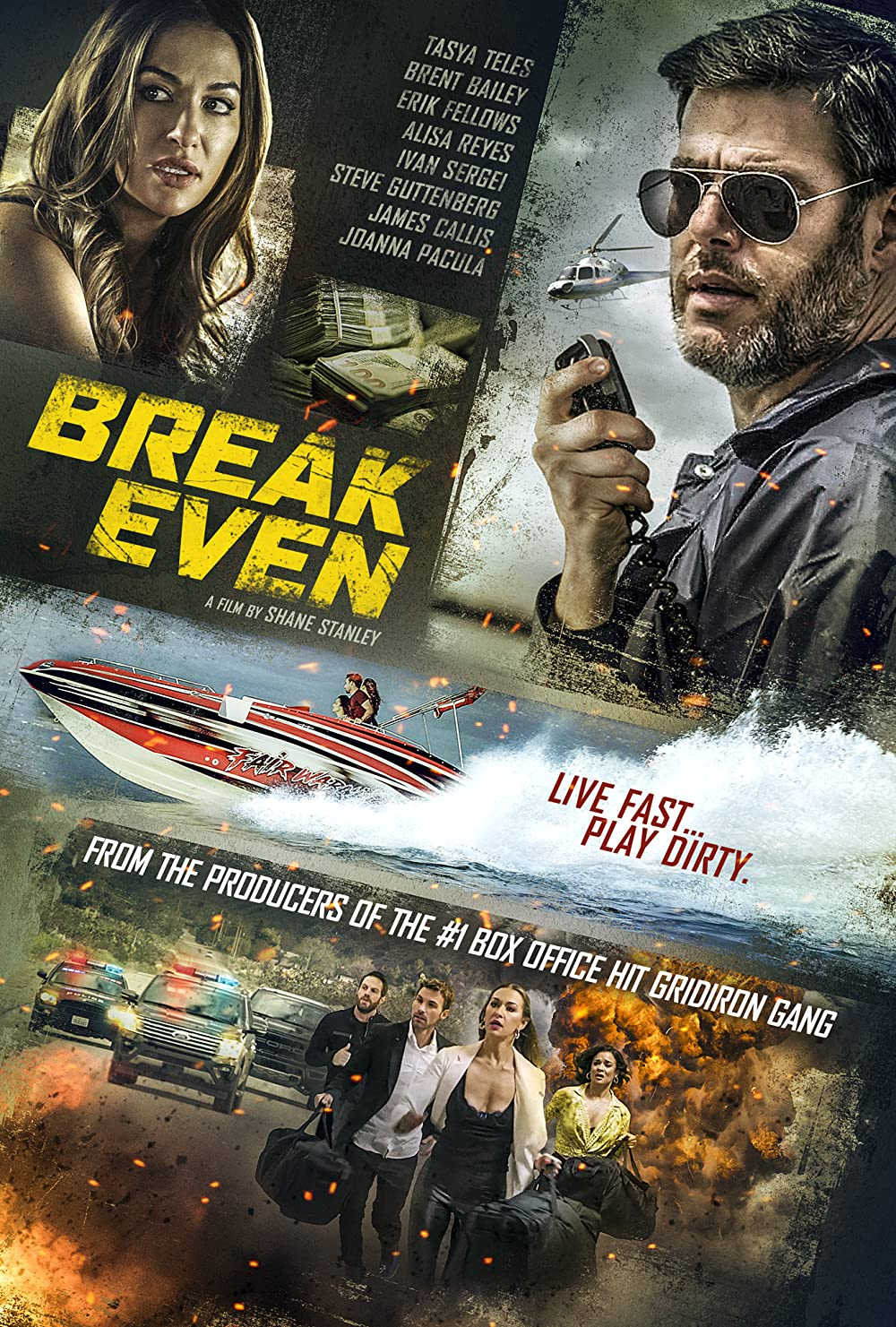 Break Even 2020 English 720p HDRip 796MB | 300MB Download