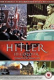 Hitler in Colour Poster
