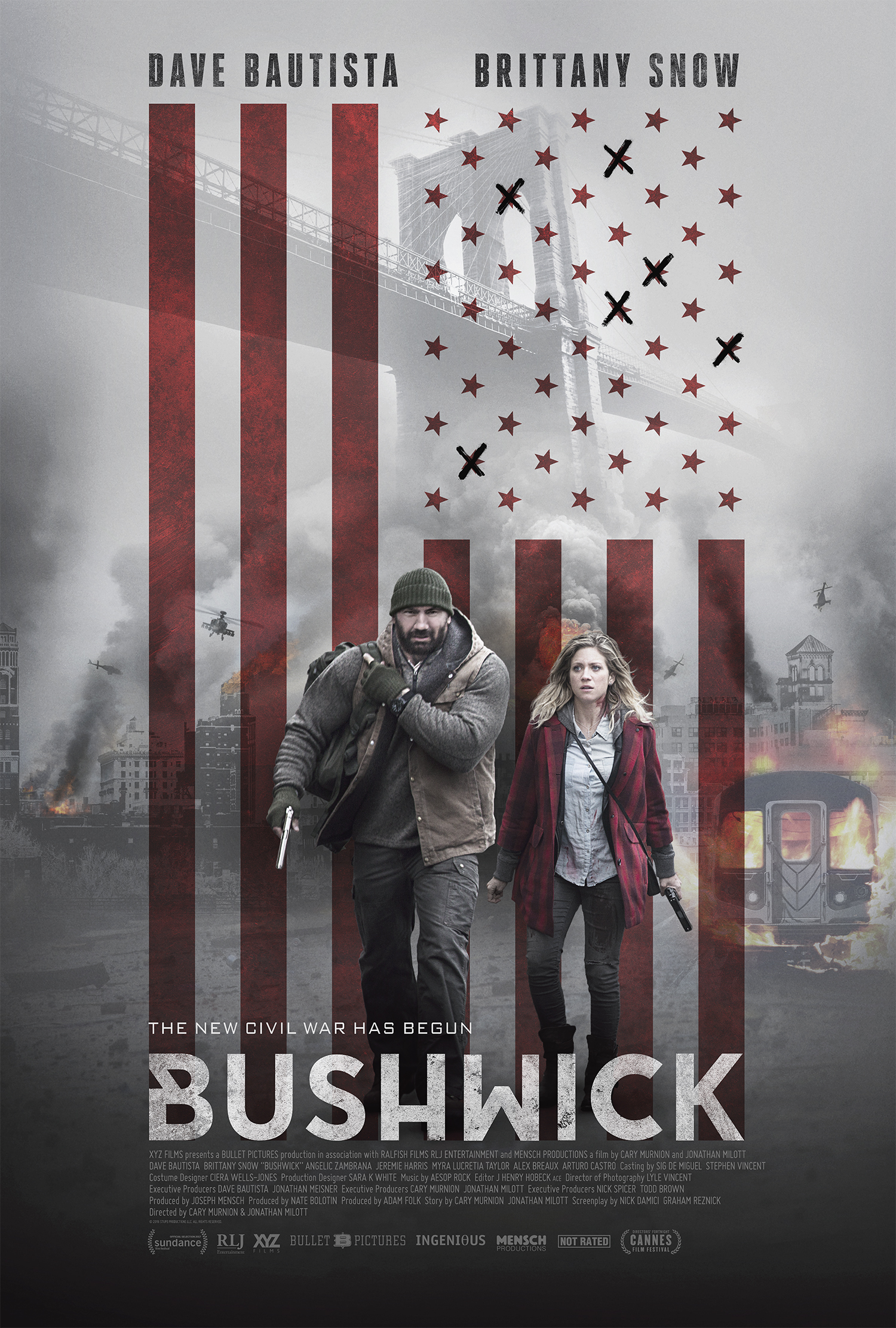 Bušvikas (2017) / Bushwick (2017)