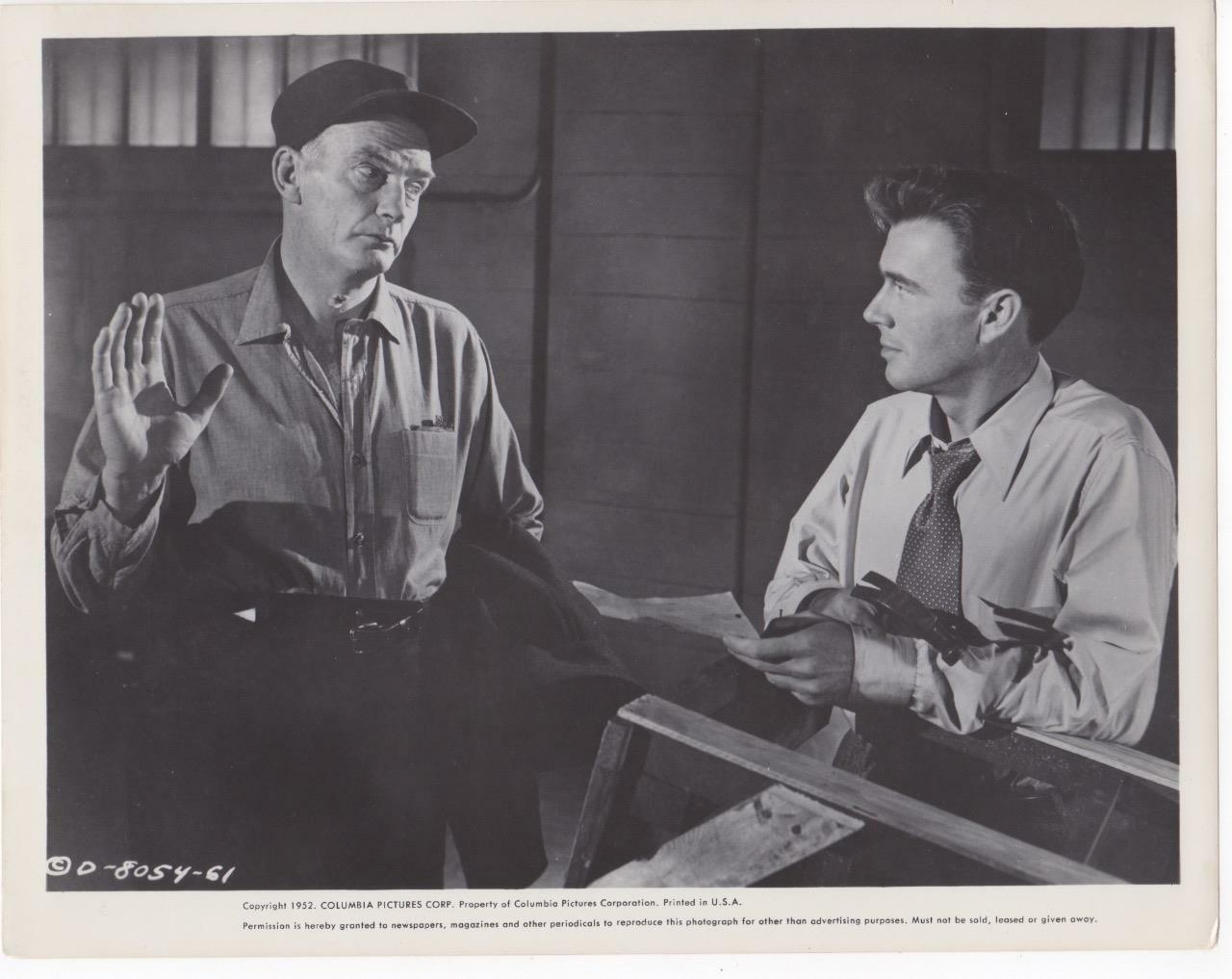 John Beal and Millard Mitchell in My Six Convicts (1952)