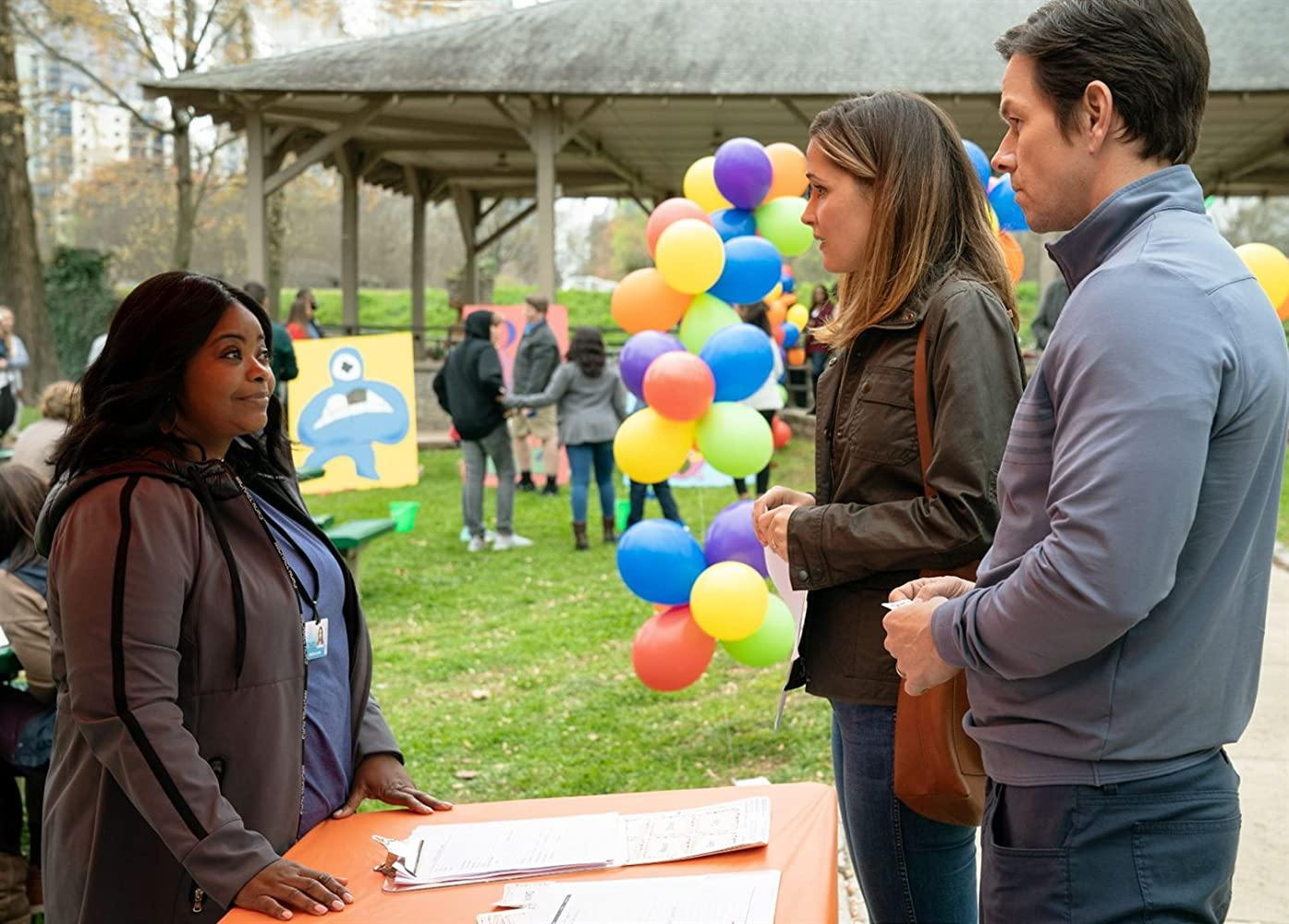 Mark Wahlberg, Rose Byrne, and Octavia Spencer in Instant Family (2018)