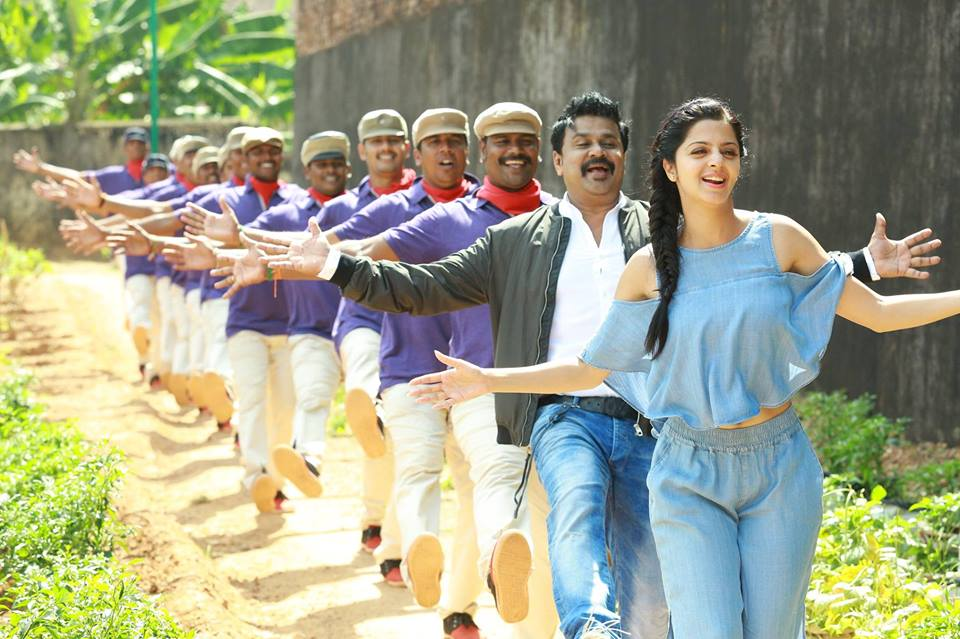 Dileep and Vedika in Welcome to Central Jail (2016)