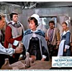 Oliver Reed, Suzan Farmer, Jack Hedley, Michael Ripper, and June Thorburn in The Scarlet Blade (1963)