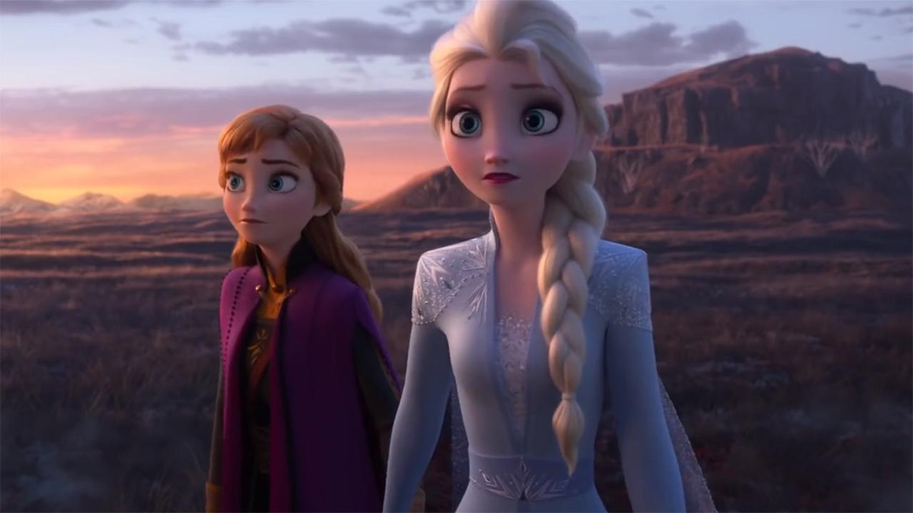 Kristen Bell and Idina Menzel in Frozen II (2019)