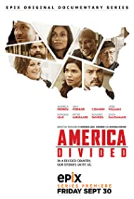 Norman Lear, Rosario Dawson, Zach Galifianakis, Amy Poehler, Peter Sarsgaard, Jesse Williams, Common, and America Ferrera in America Divided (2016)