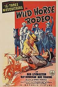Ray Corrigan, Robert Livingston, Walter Miller, and Max Terhune in Wild Horse Rodeo (1937)