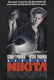 River Phoenix and Sidney Poitier in Little Nikita (1988)