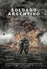 Soldado Argentino solo conocido por Dios Poster
