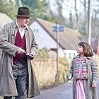 Hugh Bonneville and Darcey Ewart in To Olivia (2021)