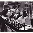Joan Crawford, Robert Taylor, and Gene Lockhart in The Gorgeous Hussy (1936)