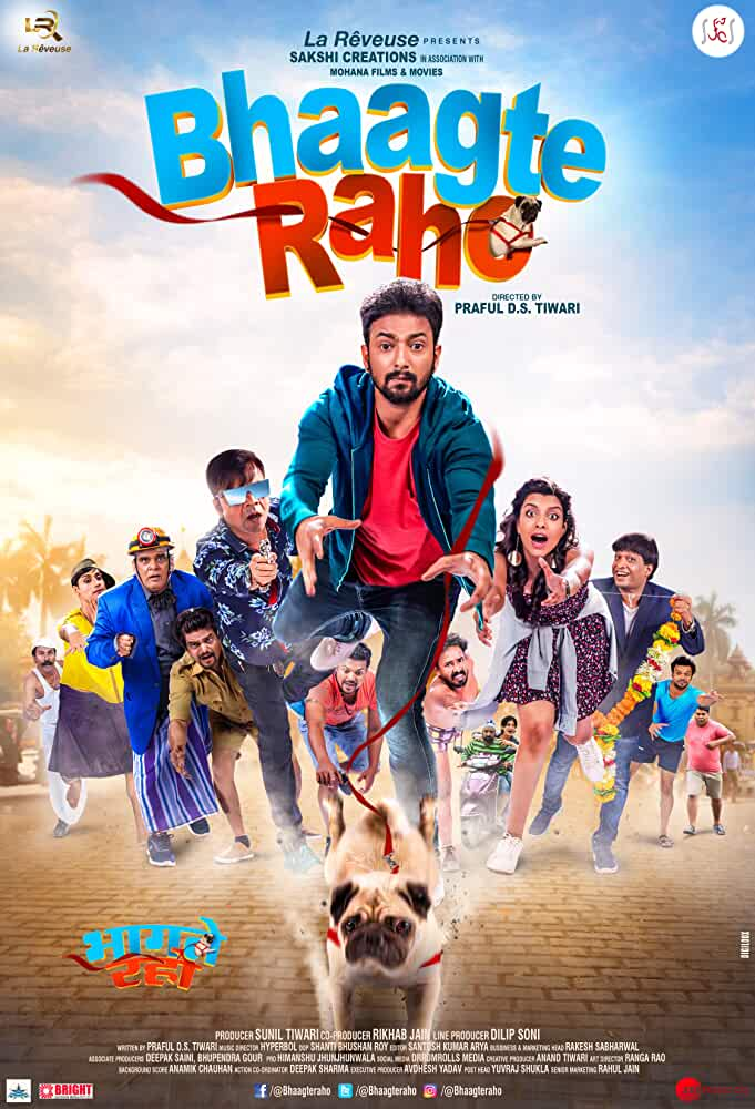 Bhaagte Raho (2018) Hindi 720p,480pHEVC HDTVRip x265 AAC [450MB,300MB] Full Bollywood Movie