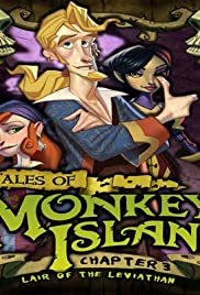 Tales of Monkey Island: Chapter 3 - Lair of the Leviathan Poster