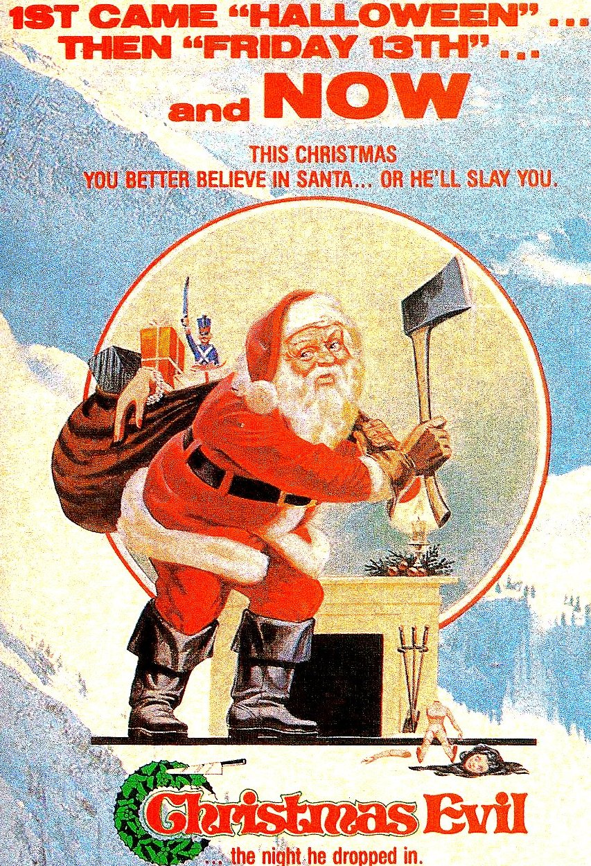 Image result for christmas evil poster