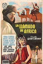 La llamada de África Poster