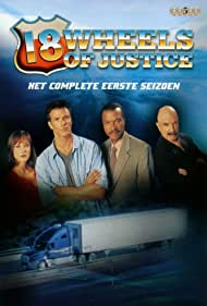Billy Dee Williams, G. Gordon Liddy, Lisa Thornhill, and Lucky Vanous in 18 Wheels of Justice (2000)